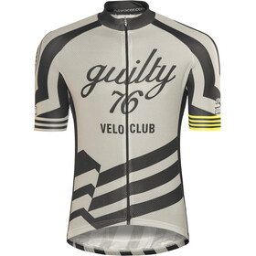 guilty 76 racing Velo Club Pro Race Maillot de cyclisme Homme, grey
